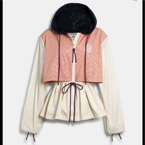 Coach Water Resistant Jacket W/ Garment Bag